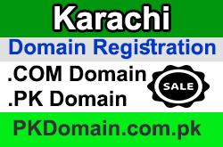 Domain Registration in Karachi