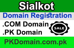 Domain Registration in Sialkot