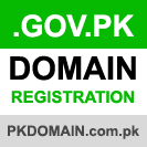 .GOV.PK Domain Registration