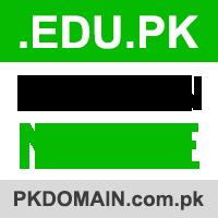 edu.pk domain registration requirements