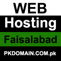 Web Hosting in Faisalabad